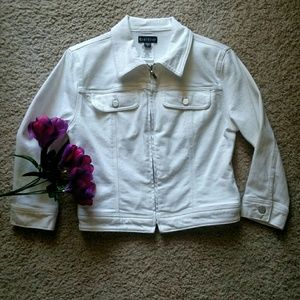 bebe Cropped Jacket Size S